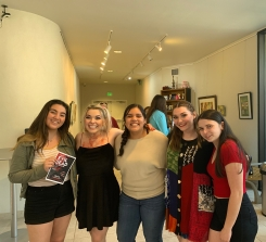 Camryn, Katherine Steele, Me, Maggie Kennedy, and Paige After Evil Dead