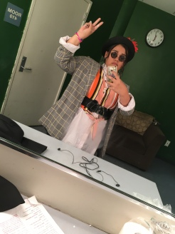 Myself as Duckie from Pretty In Pink on Halloween 2019