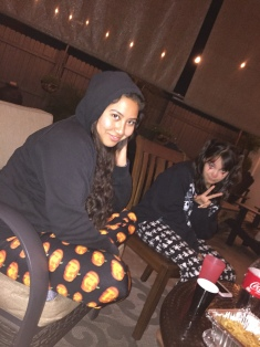 Valerie and Natalie, Halloween 2019